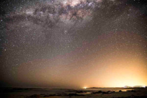 Starry skies over Pearly Beach